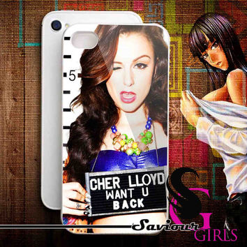 Cher Lloyd Styles for iPhone 4/4S, 5/5S, 5C and Samsung Galaxy S3, S4 - Rubber and Plastic Case