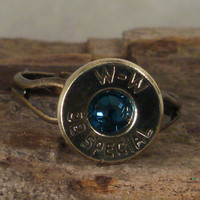 Bullet Ring  38 SPL   Montana by ShellsNStuff on Etsy