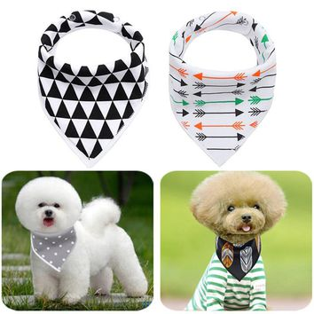 4pcs Cool Style Pet Dog Scarf Collar Bandanas Tie Soft Cotton Pet Neck Collar Bib Scarf For Small Medium Large Dog Accessories