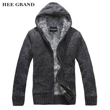 2016 New Men Warm Sweatshirts Autumn Cardigan Hooded With Zipper For Man High Quality MZM222
