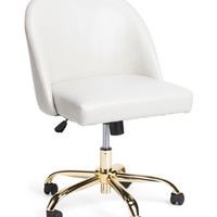 Office Chair With Gold Legs - Accent Furniture - T.J.Maxx
