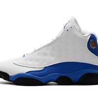 Best Deal Online Nike Air Jordan Retro 13 Hyper Royal White/Hyper Royal Men Sneakers 414571-117