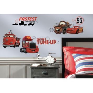 Disney® Cars Friends to the Finish Peel and Stick Wall Decals