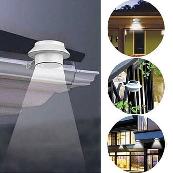 Solar Powered LED Lights for Gutter, Roof or Fence