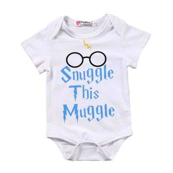 Infant Onesuit Snuggle This Muggle 6 - 24 Mos.  (Harry Potter)