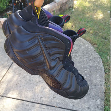 DS Custom Black Out Nike Penny Foamposite