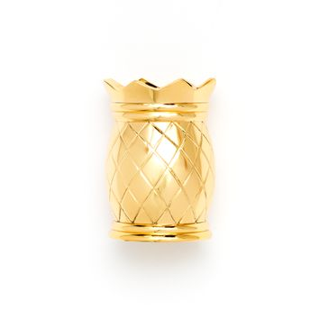 Gold Pineapple Pencil Cup