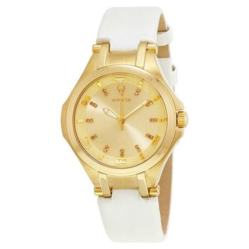 Invicta Gabrielle Union Gold Dial Ladies Watch 23251