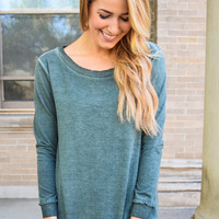 Cool In Colorado Tunic Olive