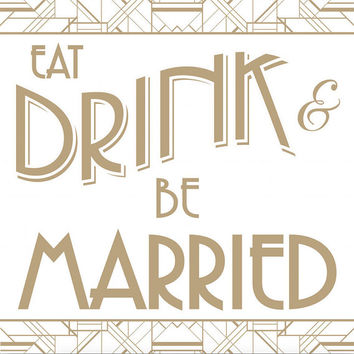 Eat Drink and Be Married Quote Backdrop Floral Wife Baby Shower Wedding Event Bride Future Mrs Wedding Shower Bridal Fabric Cloth Background