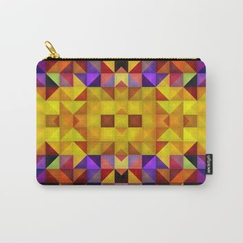 The golden way Carry-All Pouch by Jeanette Rietz