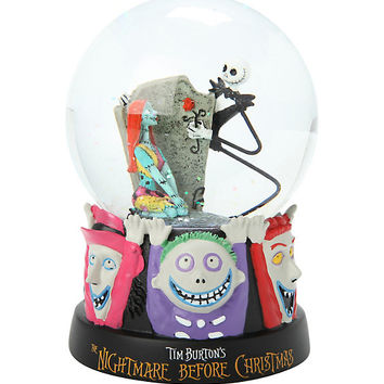 The Nightmare Before Christmas Celebrating Our Love Water Globe