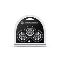 Oakland Raiders Golf Chip with Marker 3 Pack