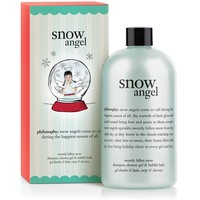snow angel | sweetly fallen snow shampoo, shower gel & bubble bath | philosophy bath & shower gels