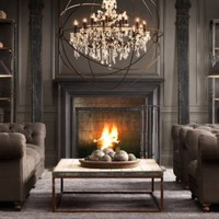 Orb Crystal Chandelier | Restoration Hardware