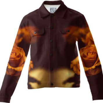 The gentleman - Twill jacket created by HappyMelvin | Print All Over Me