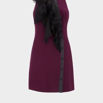 Versace Parade Ruffle Dress for Women | US Online Store