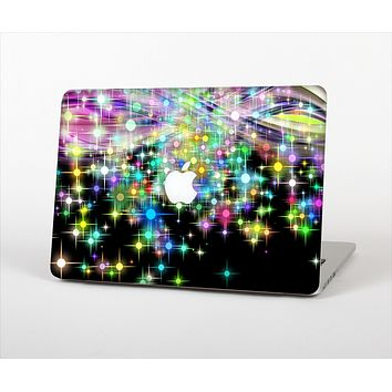 """The Multicolored Glistening Lights Skin Set for the Apple MacBook Pro 15"""""""