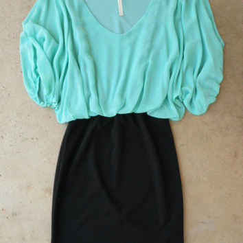 Fairweather Dress in Mint [3848] - $42.00 : Vintage Inspired Clothing & Affordable Fall Frocks, deloom | Modern. Vintage. Crafted.