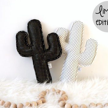 Cactus pillows - limited editions, Cactus Nursery Decor, Adventure Nursery, Saguaro Cactus, Cactus Cushions
