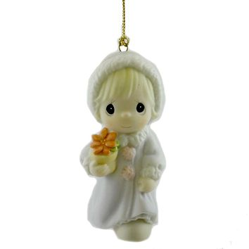 Precious Moments May Joy Bloom Within You Resin Ornament