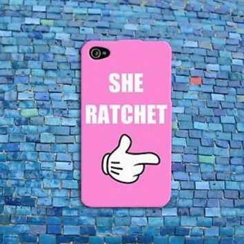 Funny She Ratchet Pink Phone Case Cute Disney Cover iPhone 4 4s 5 5c 5s 6 6s +