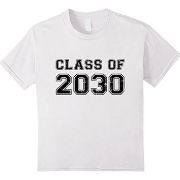 Kids Class of 2030 - 1st Day of School - Kindergarten Youth Shirt