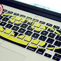 Batman Keyboard Decal MacBook Macbook Keyboard Decal/Macbook Pro Keyboard Skin/Macbook Air Sticker/Macbook vinyl sticker