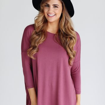 Nocturne PIKO 3/4 Sleeve Top