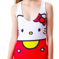 Japan L.A. Hello Kitty Bodycon Dress Multi