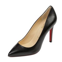 Wiberlux Christian Louboutin Women's Real Leather Pointed Toe Pumps