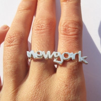 verameat | new york ring in brass