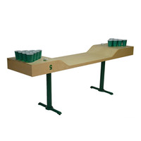 C5 Beer Pong: C5 Beer Pong Table Eco Green