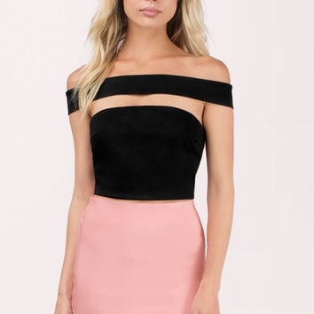 Claudia Off Shoulder Crop Top