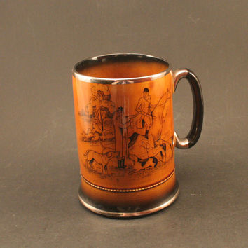 Vintage Arthur Wood Mug - Coaching and Hunting Days - Made in England