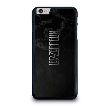 led zeppelin lyric iphone 6 6s plus case cover  number 1