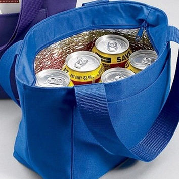 Personalized with Name Embroidered Cooler Lunch Bag by Arts and Soles