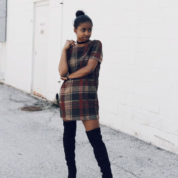 Abbey Road Flannel Dress