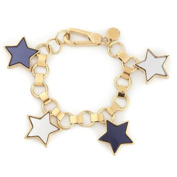 Marc By Marc Jacobs star charms bracelet