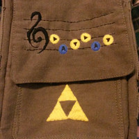 Legend of Zelda themed iPad sized bag