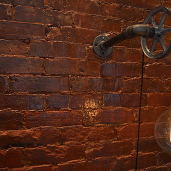 Pulley Light - Wall Light - Industrial Lighting - Industrial Multi-Pendant [Edison Bulb Sold Separately]