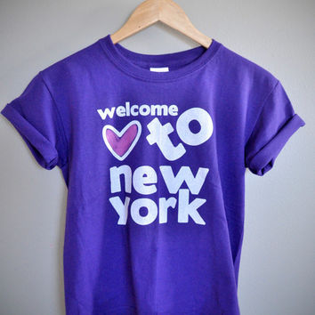 Kids Welcome To New York T-Shirt