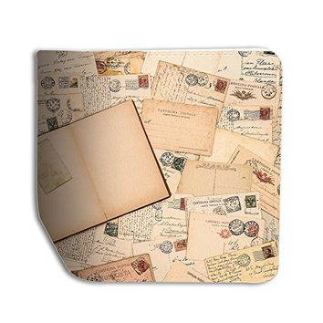 Letters Stamps Leather Business ID Passport Holder Protector Cover _SUPERTRAMPshop