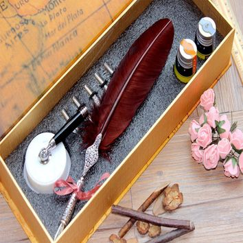 Quill Dip Pen Harry Potter Feather Pen Set