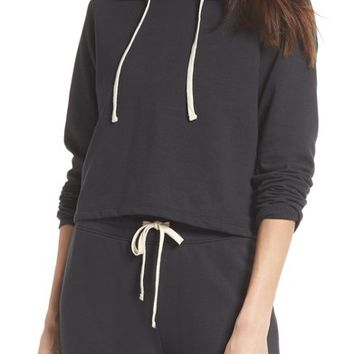 Alternative Cropped Terry Hoodie | Nordstrom
