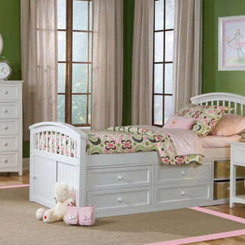 Katrina Twin Size Captains Bed