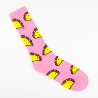ODD FUTURE Taco Mens Crew Socks
