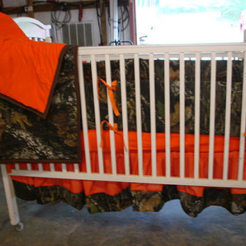 Camouflage  baby crib bedding set