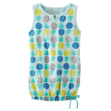 OshKosh B'gosh Glitter Pineapple Tunic Tank - Toddler