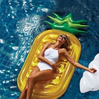 180CM Giant Inflatable pineapple floating pool